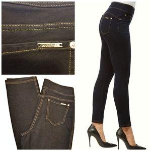 Nygard slims pull on straight leg black jeans